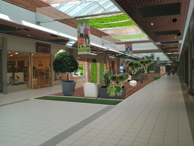 Aménagement du Centre commercial Rive droite Lormont