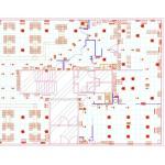 Plan  calpinage / lot elec sur Autocad